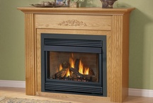 direct vent gas fireplaces / by Kim
