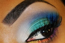 makeup and nails / by alyssa bugros
