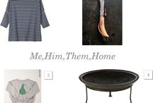 me,him,them,home / by Lou Archell | littlegreenshed