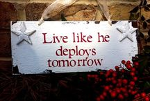 Navy Wife / Deployment package ideas, Navy in General  / by Denise Wilson