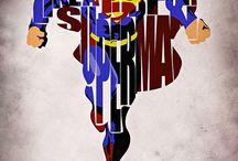DC heros / by Logan Box