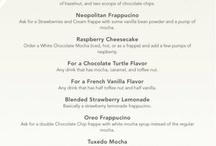 Secret menus / by Amy Frede Crowley