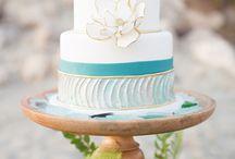 Beach Wedding  / Ideas for beach wedding theme / by I Pop Cakes