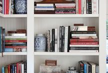 Bookshelves / by Holly Mathis Interiors