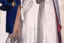 Regency and Georgian Fashions / Fashions in England from 1760-1840. / by Susannah Carleton