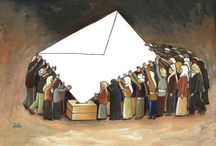 Elections in Egypt / Change in Egypt - Amr Okasha / by Cartoon Movement