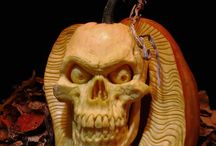 Pumpkin Carvings / Every year Im amazed and fascinated by what others are able to make from pumpkins and gourds... / by Michelle Egan Willman