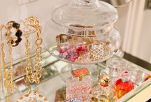 Jewelry Displays & Storage / Beautiful ways to display jewelry & store beads / by Terri Belt
