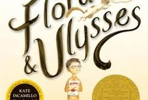 """Newbery Winners 1990-present / The John Newbery Medal is a literary award given by the Association for Library Service to Children, a division of the American Library Association (ALA). The award is given annually to the author of """"the most distinguished contribution to American literature for children."""" / by Ortega Public Library"""