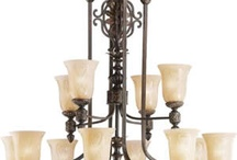 "Lighting, the ""Jewelry"" of the home... / by Alicia Woodle"