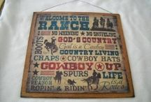 Country and Western Decor / by KarensRopeWork