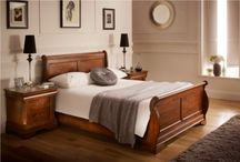 Sleigh Beds / The sleigh bed is a classic design that can work equally well in either a traditional or contemporary design scheme. From vintage / cottage style sleigh beds to French Style sleigh beds and contemporary leather and upholstered sleigh beds we have a wide range of styles and finishes available. / by Time4Sleep