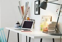 Desk organization / by Aimee Clones N Clowns
