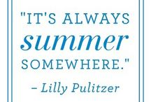 im just a summer girl / by Tiffany Bennett
