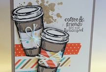 Coffee cup cards / by Mary Booker