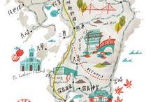 Map / by Nabila Lucas-Ramdani