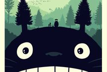 Totoro / My collection of Studio Ghibli´s classic anime My Neighbour Totoro.  / by Dr. Moku