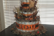 Camo and orange baby shower / by Dorothy Chambers
