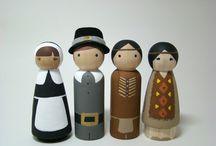 Peg People! / I love these little guys! / by Heidi Binkley