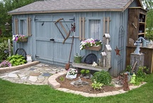 Shed IDeas / by Sarah Olver