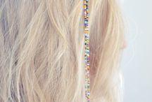Beading hair clips / by Debbie Misuraca