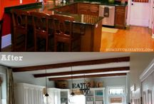 kitchen re-do... / by Kendra Krietsch