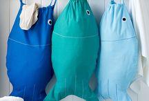 peces, fishes / by El Tarro de Ideas