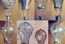 Objetos transformados / Doble uso para todo, una nueva vida... / by Dolores Mario Alvarez