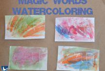 Preschool - Language Ideas / by Kellie Tatham