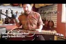 Dobro Resonator Guitar Mike Auldridge / by Satoru Nagayama
