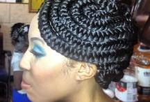 Hair by moi / by Thandiwe Myke