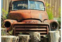 GMC trucks / by Rosario Lopetrone
