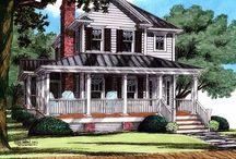 Farmhouse design/build storyboard / by Tracey Devlin