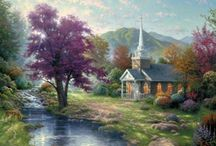 churches / by Renee Upton