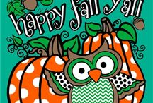 Happy Fall Y'all / by Sassy Decor and More, LLC.