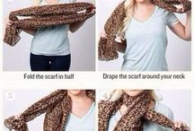Scarf tying / by Stacey Stanley