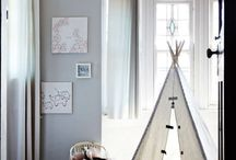 Teepee's, bunk beds and Boy Scouts / Big boys room ideas / by Phillippa Cox
