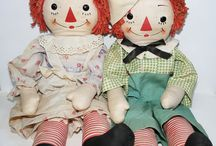 Raggedy Ann and Andy / by CeCe Wysong