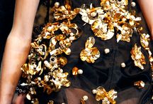 DOLCE & GABANNA / lace, gold, jewels, flowers, crowns, black, baroque / by Gemma Goodwin