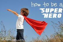 Messy Church - Super Heroes / by Dena Babb