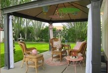 Outdoor Rooms / by Amy Chalmers - Maison Decor