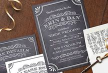 Wedding Invitations & Paper / Gorgeous wedding invitations plus wedding table numbers, menu cards, ceremony programs, favor tags, and any other wedding stationery or paper goods you could need! / by Here Comes The Guide