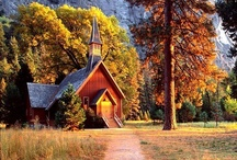 Country Churches / by Deanne Doherty