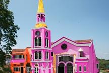 Churches, Temples, Monastaries / Places of worship of all faiths. / by Gwynn Kroeker