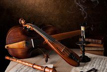 Art featuring Musical Instruments / or Musical Instruments featuring art... / by Rochelle G