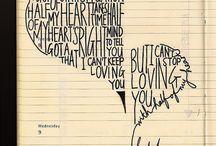 Lyrics <3 / by Ashley Rowe
