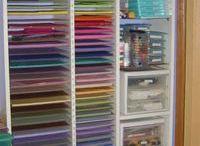 my craft room / by Linda Willis