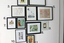 Hanging pic ideas / by Jan Epperson
