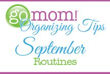 September Routines / Full of all kinds of ideas to help busy Moms put routines into place for the new year. / by Molly Hayden Gold