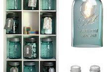 Mason Jars.... not for just canning / by Patsy Snodgrass